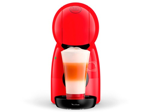 Cafetera Dolce Gusto Piccolo Roja 15 bares Moulinex