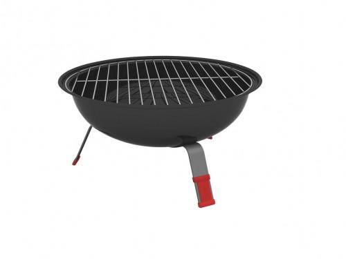 Parrilla redonda TCP 320 grill Carbón Tramontina