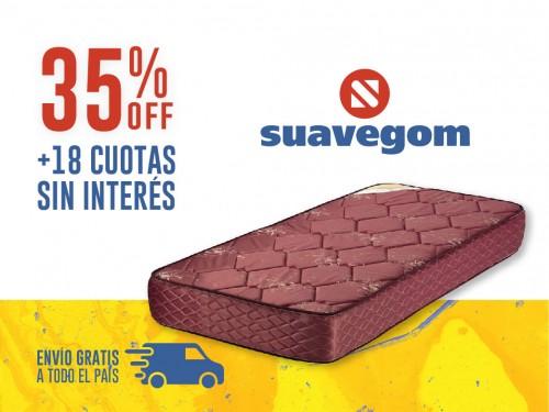 Colchón Suavegom Splendid 190x80 Espuma 1 Plaza