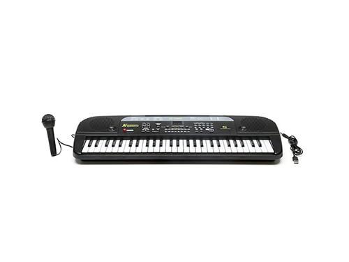 ORGANO INSTRUMENTO MUSICAL TECLADO Y MICROFONO MQ-5405