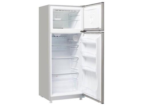 Heladera con Freezer Gris Plata 322lts Nueva Línea Briket