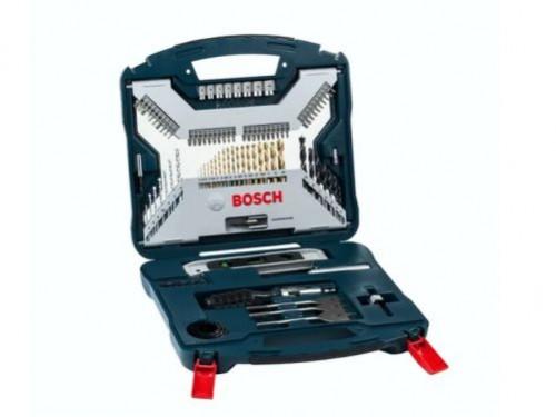 Set de mechas puntas tubos Bosch X-line Titanium 100 piezas