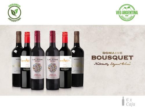 Vino Mix de Malbec Organico 6x750 ml. Domaine Bousquet