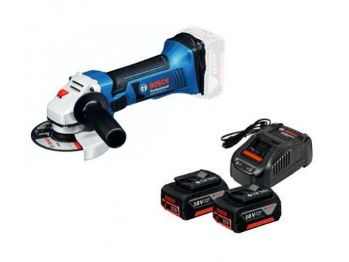 Taladro Percutor Gsb180 + Amoladora + 2 Baterias + Cargador Bosch
