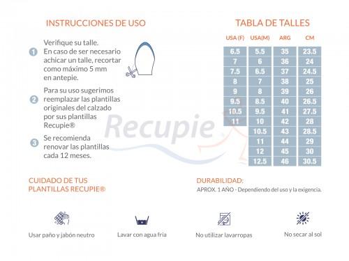 Plantilla Ortopedica Deportiva Arco Oliva Pie Plano Cavo