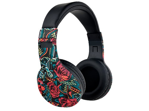 Auriculares Bluetooth On-Ear Special Edition Roses Stromberg Slag