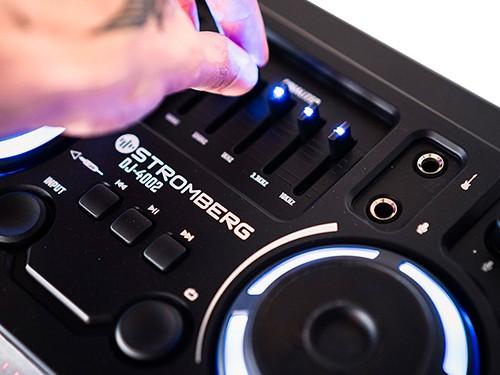 Torre Bluetooth con función Mezclar 120W RMS - Stromberg DJ-4002