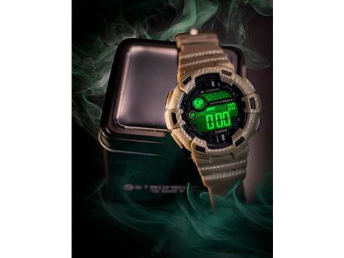 Reloj Sumergible Digital Desierto - Stromberg Code