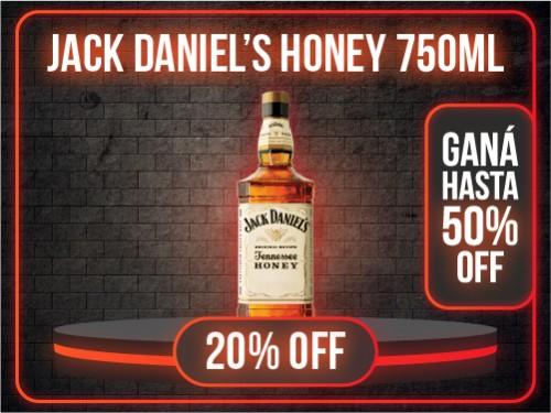 WHISKEY JACK DANIELS HONEY 35° 750ml