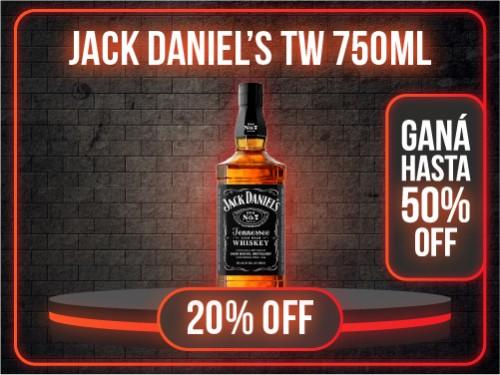 WHISKEY JACK DANIELS Nro7 40° 750ml