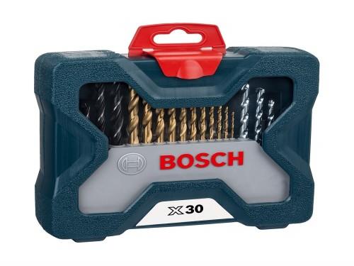 Juego Set Kit Mechas Puntas Bosch 30 Pzas En Caja Tecnofast