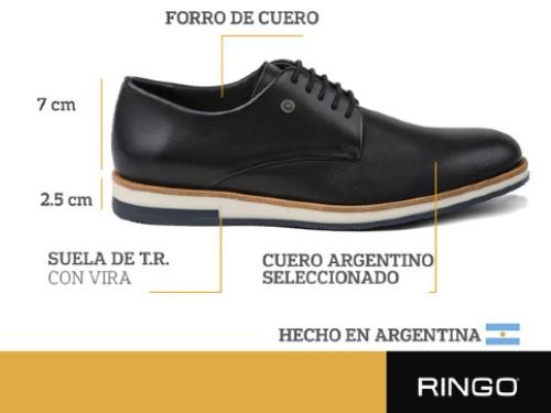 Zapatos Oslo Rycker Black