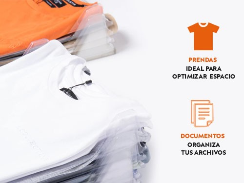 Organizador de remeras camisas o documentos 10 unidades
