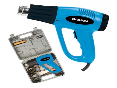 Pistola De Calor En Kit Gamma 2000w 300º/550ºc + Accesorios