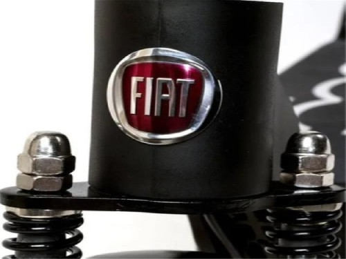 "Monopatin Electrico Fiat Plegable 8"" F500-F80-K 36V 250W Negro"