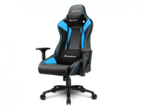 Silla Gamer Sharkoon Elbrus 2 Negra-Azul