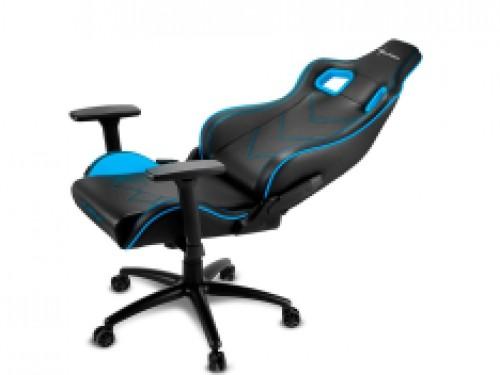 Silla Gamer Sharkoon Elbrus 2 Negra-Azul