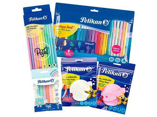 Kit Pelikan Kids Pastel