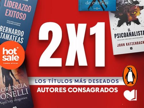 Los mejores títulos - 2x1 - Autores consagrados