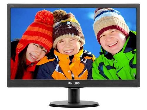 "Monitor Led 18.5"" HD 1366x768 VGA+HDMI Philips"