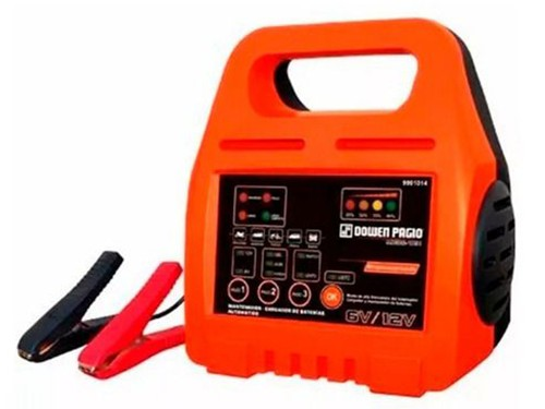 Cargador Mantenedor Bateria Automático Dowen Pagio 6/12v 8ah