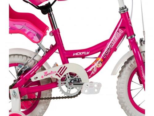 BICICLETA KIDS VICKFLY R12 ROSADO-TOPMEGA