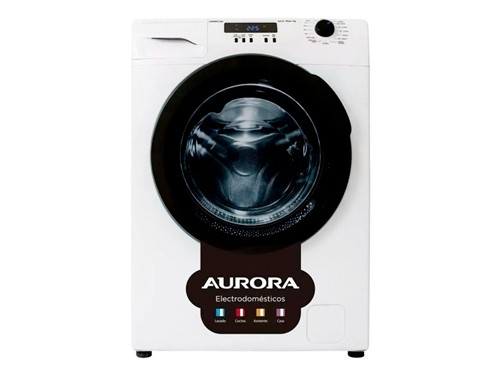 Lavarropas Automático Blanco 6kg 600rpm Display A+ Aurora