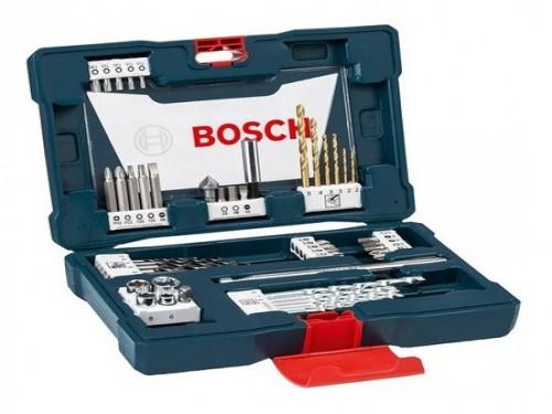 Set Kit De 48 Piezas Bosch V-line Mechas Y Puntas De Titanio