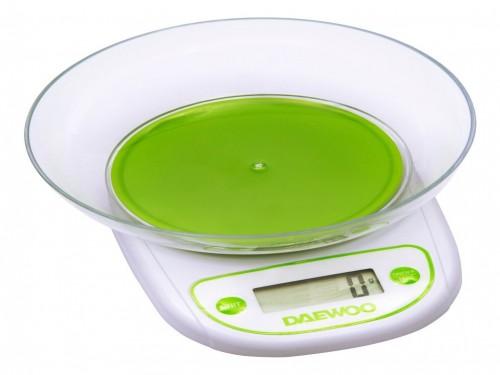Balanza De Cocina Digital Con Bowl LCD 3 Kg Daewoo DKS2054