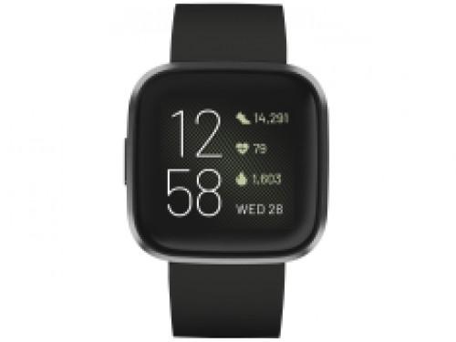 Smartwatch Fitbit Versa 2 NFC Black Carbon Aluminum