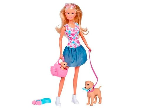 Steffi Muñeca Paseo De Cachorros 105733310