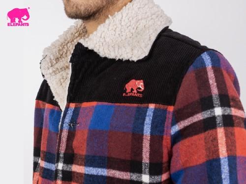 Camperas Morgan forrada en corderito y polar Elepants®