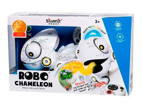 Robo Camaleón Robot Interactivo C/luz R/c 88538