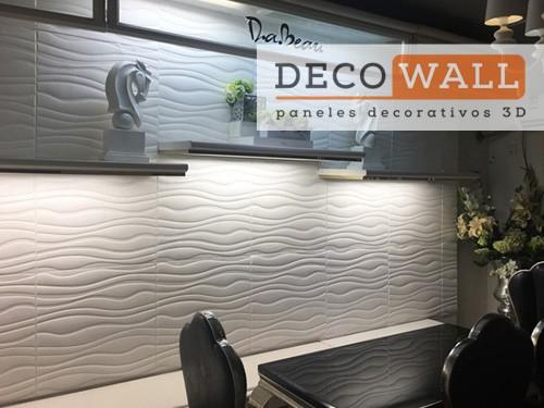 Revestimiento Decorativo Autoadhesivo pared  en 3D Aislante Decowall