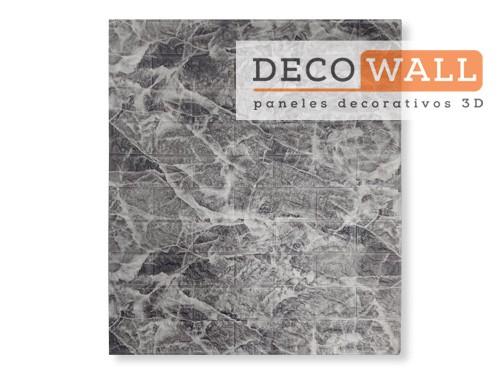 Revestimiento Marmol Autoadhesivo pared en 3D Aislante Decowall