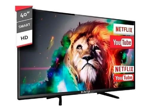 """SMART TV 40"""" ANDROID TV KANJI KJ-4XTL005 HD NETFLIX YOUTUBE APP STORE"""