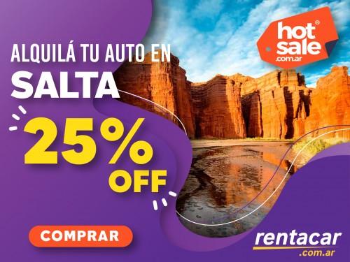 Alquiler de autos en Salta, al mejor precio.