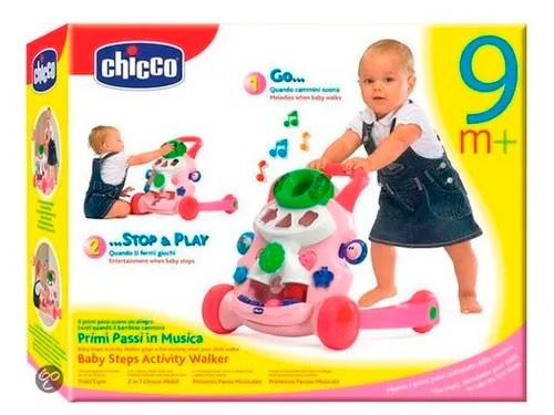 Chicco Andador Bebe Actividades Caminador Pink 652612