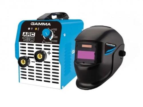 Soldadora Inverter Gamma 130 Arc G3471 Con Mascara Fotosense