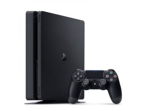PS4 CONSOLA 1TB CORE NEGRA SLIM + Auricular SADES 810 + JUEGO FIFA2019