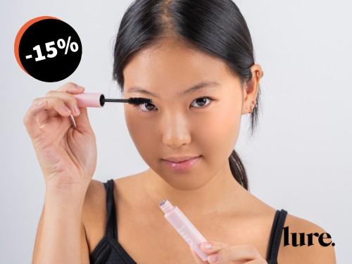 Kit Beauty Pestañas y Labios + Neceser by LURE