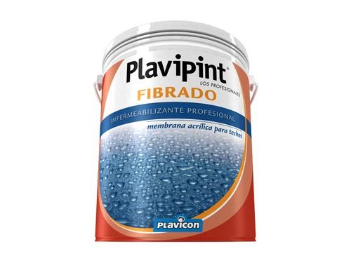 Impermeabilizante Plavicon Plavipint  Fibrado Blanco 20 Kilos
