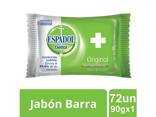 Espadol Caja Cerrada Jabon Original 90gx1 Caja Cerrada X72un