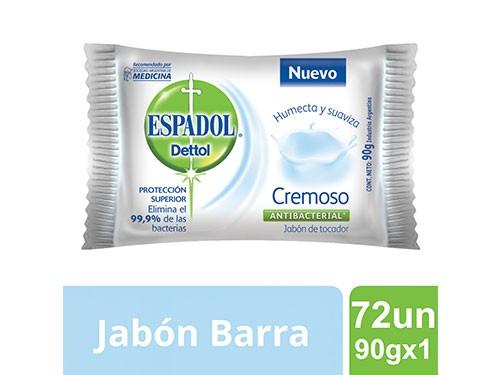 Espadol Caja Cerrada Jabon Cremoso 90gx1 Caja Cerrada X 72un