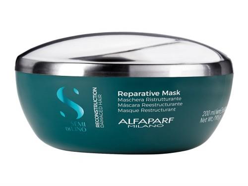 Máscara Capilar Alfaparf Milano Semi Di Lino Reconstruction x 200 ml