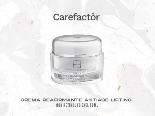 Crema Reafirmante Antiage Lifting Con Retinol F3 Exel 50ml