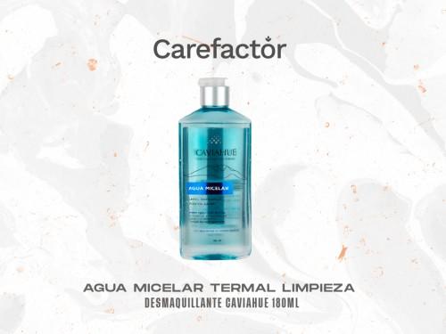 Agua Micelar Termal Limpieza Desmaquillante Caviahue 180ml
