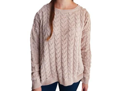 Sweater de Mujer de Chenille Abrigados