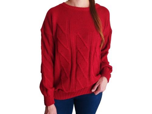 Sweaters de Mujer Trenzados Abrigados