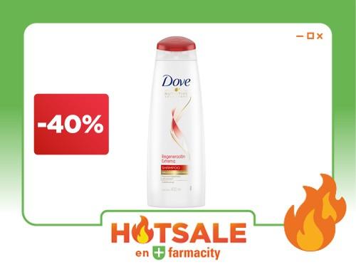 Shampoo Dove Regeneración Extrema x 400 ml